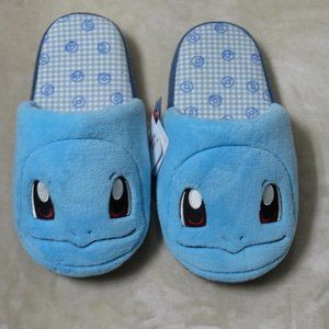 Squirtle slippers, new pokemon slippers, cute